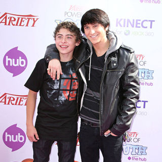 Ryan Ochoa, Mitchel Musso in Variety's 4th Annual Power Of Youth Event