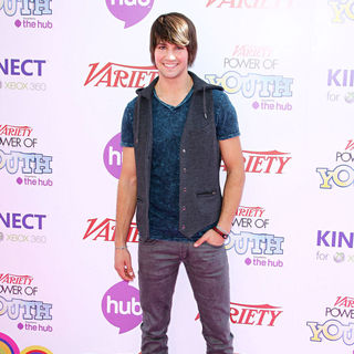 James Maslow in Variety's 4th Annual Power Of Youth Event