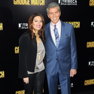 Christine Prado, Michael Buffer in Grudge Match New York Screening - Red Carpet Arrivals