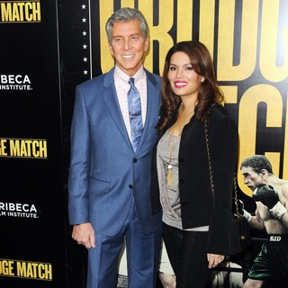 Michael Buffer, Christine Prado in Grudge Match New York Screening - Red Carpet Arrivals