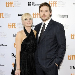 Chris Pratt in 36th Annual Toronto International Film Festival - Moneyball - Premiere - pratt-faris-36th-annual-toronto-international-film-festival-03