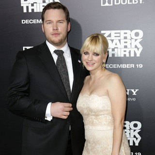 Chris Pratt in Los Angeles Premiere of Columbia Pictures' Zero Dark Thirty - pratt-faris-premiere-zero-dark-thirty-01