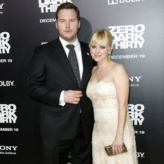 Chris Pratt, Anna Faris in Los Angeles Premiere of Columbia Pictures' Zero Dark Thirty