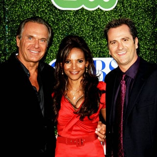 Dr. Andrew Ordon, Dr. Lisa Masterson,  Dr. Jim Sears in 2010 CBS, CW, Showtime Summer Press Tour Party