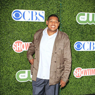 Omar Benson Miller in 2010 CBS, CW, Showtime Summer Press Tour Party