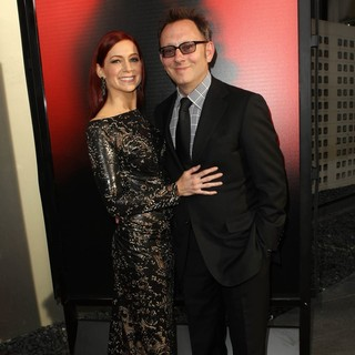 Carrie Preston, Michael Emerson in Premiere of HBO's True Blood Season 6 - Arrivals