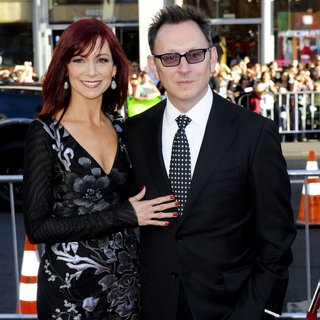 Carrie Preston, Michael Emerson in HBO True Blood Season 7 - Premiere