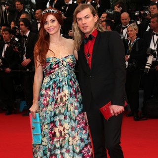 Phoebe Price, Christophe Guillarme in Opening Ceremony of The 66th Cannes Film Festival - The Great Gatsby - Premiere