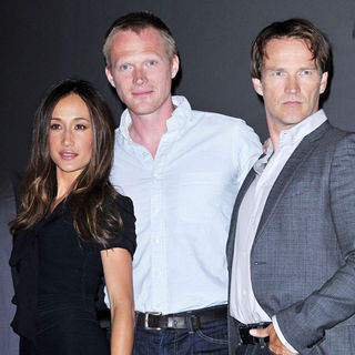 Maggie Q, Paul Bettany, Stephen Moyer in Comic Con 2010 - Day 2 - 'Priest' Press Conference