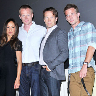 Maggie Q, Paul Bettany, Stephen Moyer, Cam Gigandet in Comic Con 2010 - Day 2 - 'Priest' Press Conference
