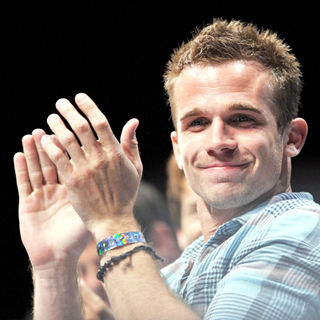 Cam Gigandet in Comic Con 2010 - Day 2 - 'Priest' Press Conference