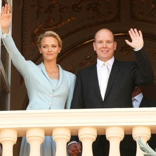 Charlene Wittstock, Prince Albert in The Royal Wedding of Prince Albert II of Monaco to Charlene Wittstock