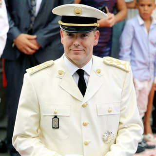 Prince Albert in Religious Ceremony of The Royal Wedding of Prince Albert II of Monaco to Charlene Wittstock