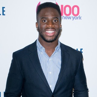 Prince Amukamara in Z100's 2011 Jingle Ball Presented by Aeropostale - Arrivals