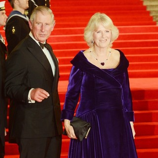 Prince Charles, Camilla Parker Bowles in World Premiere of Skyfall - Arrivals