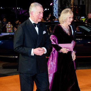 Prince Charles, Camilla Parker Bowles in UK Premiere The Second Best Exotic Marigold Hotel - Arrivals
