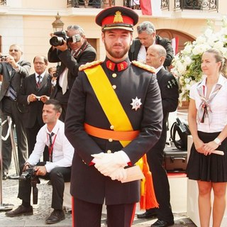Prince Guillaume in Religious Ceremony of The Royal Wedding of Prince Albert II of Monaco to Charlene Wittstock
