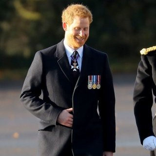 Prince Harry in Prince Harry at The Sovereign's Parade