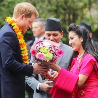 Prince Harry-Prince Harry Attends A Ceremony at The Embassy of Nepal