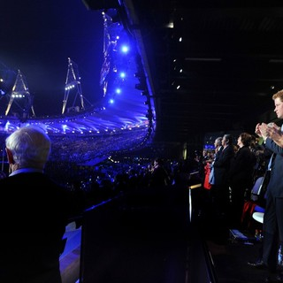 Prince Harry, Kate Middleton in London 2012 Olympic Games - Closing Ceremony