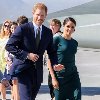 Prince Harry, Meghan Markle in Prince Harry and Meghan Markle Visit to Dublin