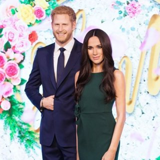 Prince Harry and Meghan Markle - Waxwork Unveiling