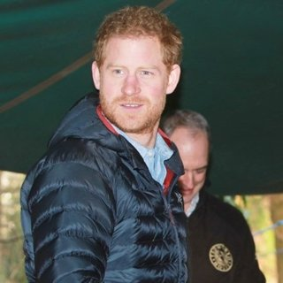 Prince Harry Visits Help for Heroes Recovery Centre