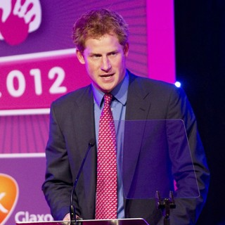 Prince Harry in WellChild Awards 2012 - Inside