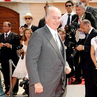 Prince Karim Aga Khan in Religious Ceremony of The Royal Wedding of Prince Albert II of Monaco to Charlene Wittstock