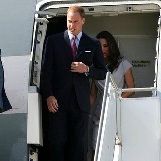 Prince William, Kate Middleton in Prince William and Kate Middleton Arrive at LAX International Airport