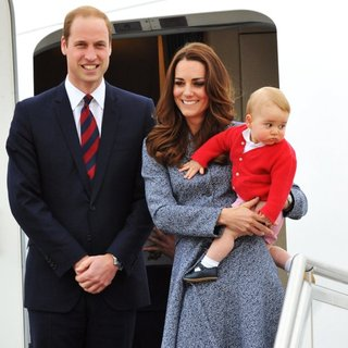 Prince William, Kate Middleton, Prince of Cambridge in Prince William and Kate Middleton Depart Australia from Defence Establishment Fairbairn
