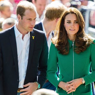 Prince William, Kate Middleton in The Ceremonial Start of The Tour de France