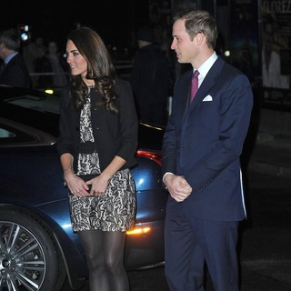Kate Middleton, Prince William in Gary Barlow in Concert Raising Funds for The Prince's Trust - Arrivals