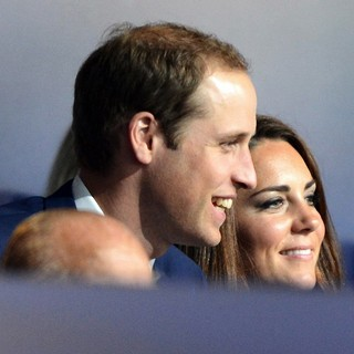 Prince William, Kate Middleton in The Opening Ceremony of The London 2012 Olympic Games