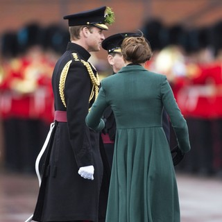 Prince William, Kate Middleton in St. Patrick's Day Military Parade