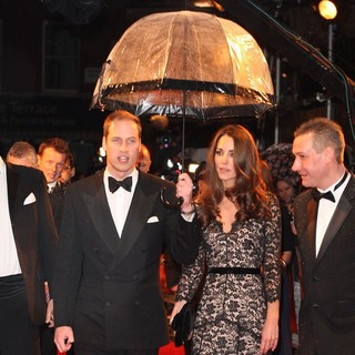 Prince William, Kate Middleton in War Horse - UK Film Premiere - Arrivals