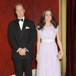 Prince William, Kate Middleton in Madame Tussauds New York Reveals The New Wax Figures of Prince William and Kate Middleton