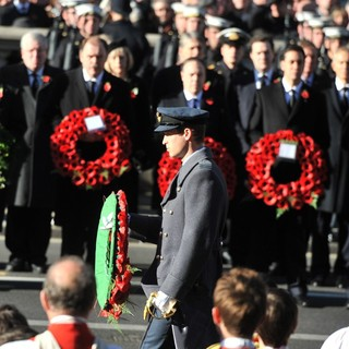 Prince William in Sunday Commemorating Sacrifices of The Armed Forces