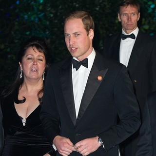 Prince William in Winter Whites Gala Dinner - Arrivals