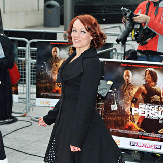 Sarah Cawood in 'Prince of Persia: Sands of Time' World Premiere
