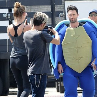 Behati Prinsloo and Adam Levine for Maroon 5 Music Video