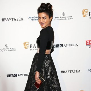 Priyanka Chopra in 2016 BAFTA Los Angeles Awards Season Tea - Arrivals