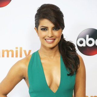 Priyanka Chopra in Disney ABC Television Group's 2015 TCA Summer Press Tour