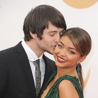 Matt Prokop, Sarah Hyland in 65th Annual Primetime Emmy Awards - Arrivals