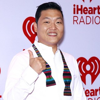 PSY in 2012 iHeartRadio Music Festival - Day 1 - Arrivals