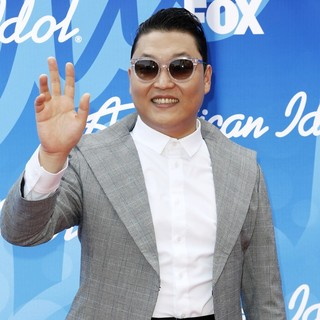 PSY in American Idol Finale Results Show Live - Arrivals