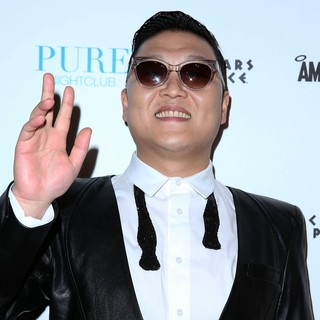 PSY in PSY Kicks of The New Years Celebrations