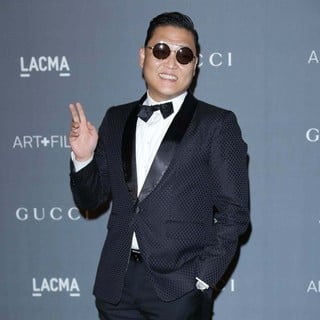 PSY in LACMA 2012 Art + Film Gala - Arrivals
