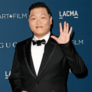 PSY in LACMA 2013 Art and Film Gala Honoring Martin Scorsese and David Hockney Presented by Gucci