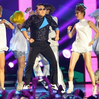 PSY in The MTV EMA's 2012 - Show